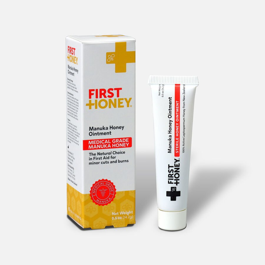 First Honey Wound Healing Ointment, 0.5 oz , , large image number 2