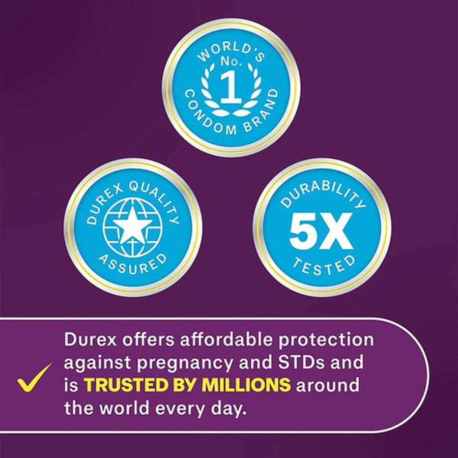 Durex Extra Sensitive Ultra Thin Condom, 12 ea, , large image number 3