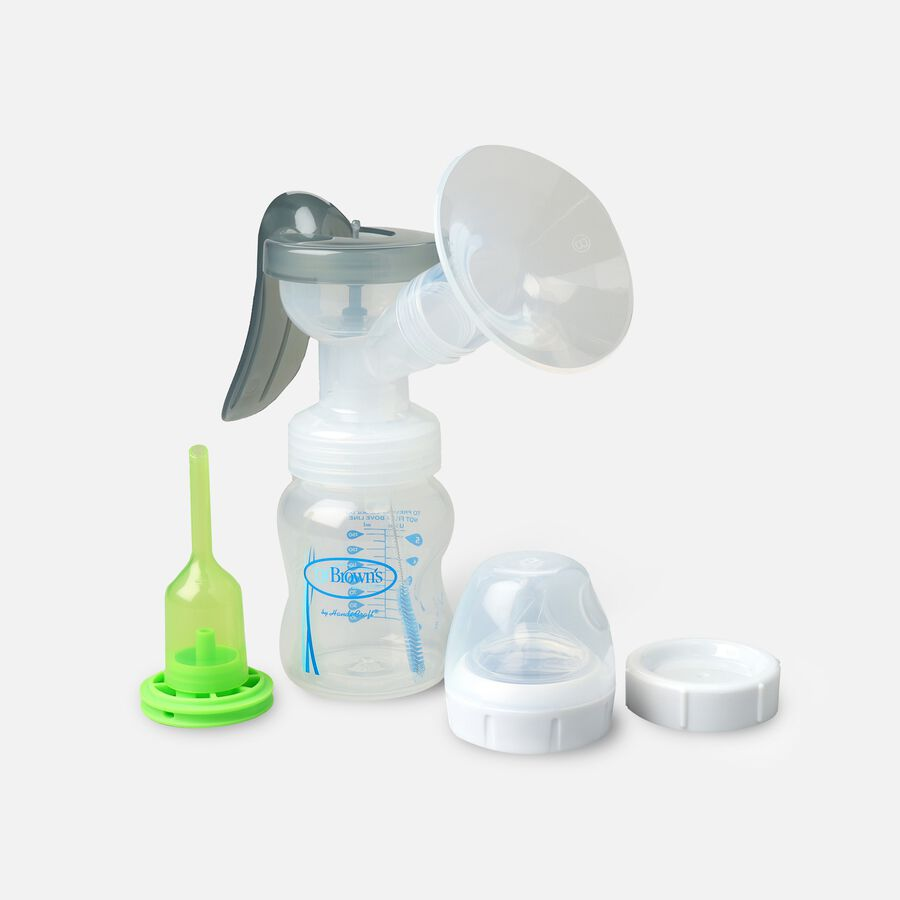 Dr. Brown's™ Manual Breast Pump with SoftShape™ Silicone Shield, , large image number 2