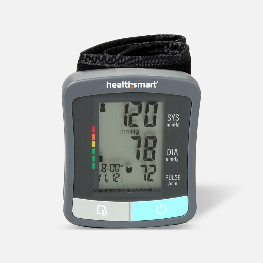 HealthSmart Standard Series LCD Wrist Digital Blood Pressure Monitor, , large image number 0