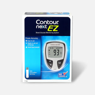 CONTOUR® NEXT EZ Blood Glucose Monitoring System