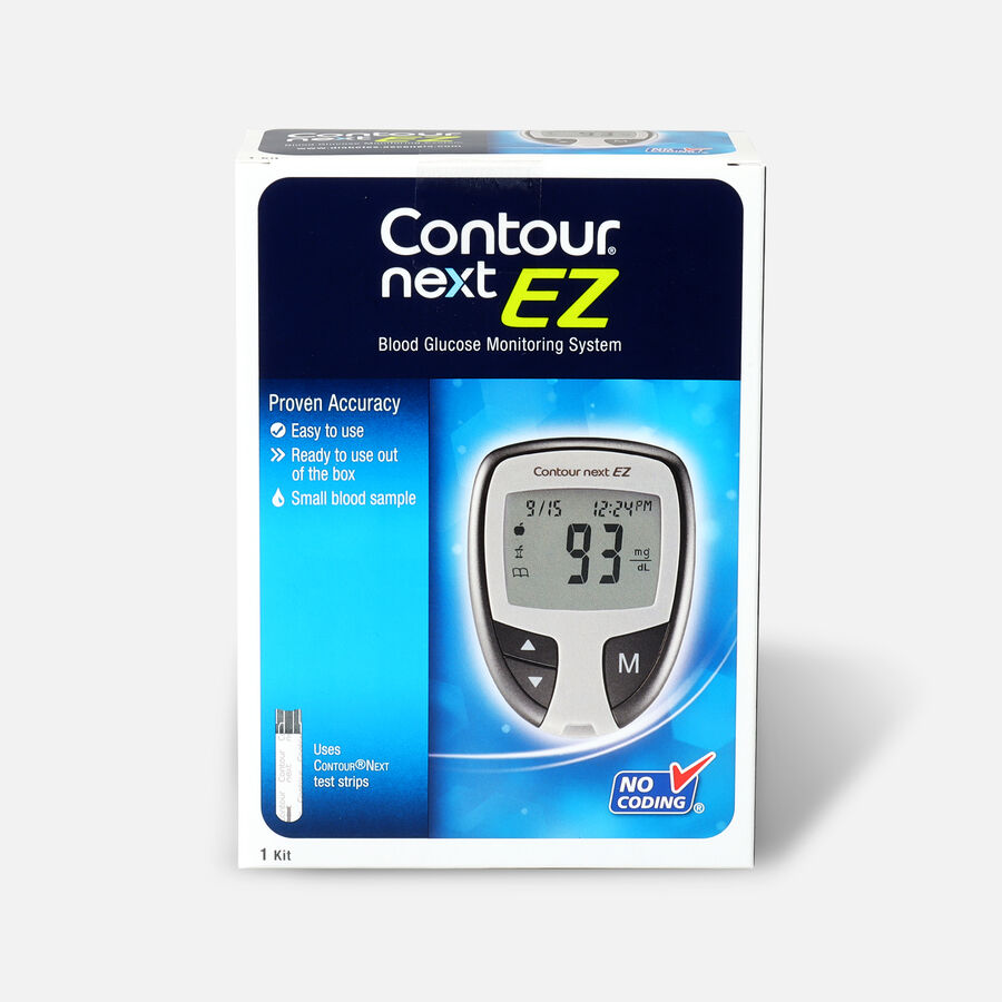 CONTOUR® NEXT EZ Blood Glucose Monitoring System, , large image number 0