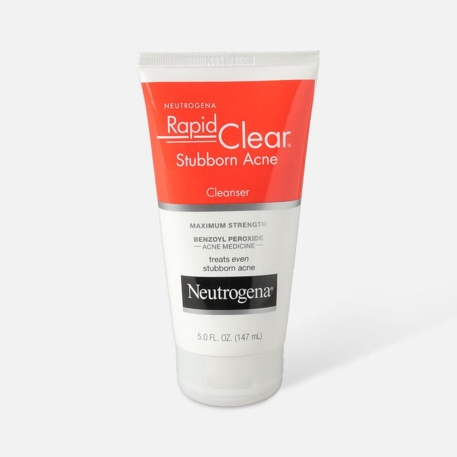 Neutrogena Rapid Clear Stubborn Acne Cleanser, 5oz., , large image number 0