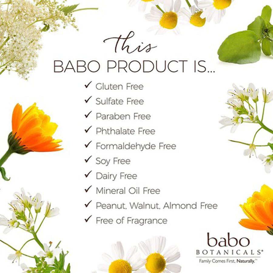 Babo Botanicals Clear Zinc Sunscreen Lotion SPF 30, 3oz. - 2 Pack, , large image number 2