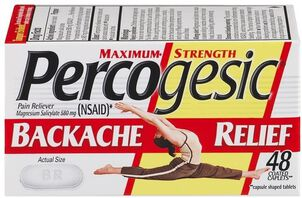 Percogesic, Backache Relief, 48 count