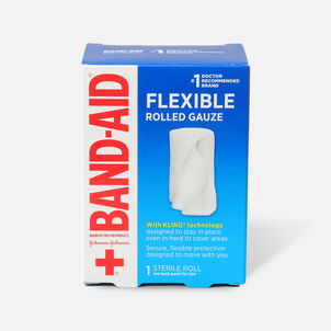 "Band-Aid Rolled Gauze, 2"" x 2.5yds - 1ct"