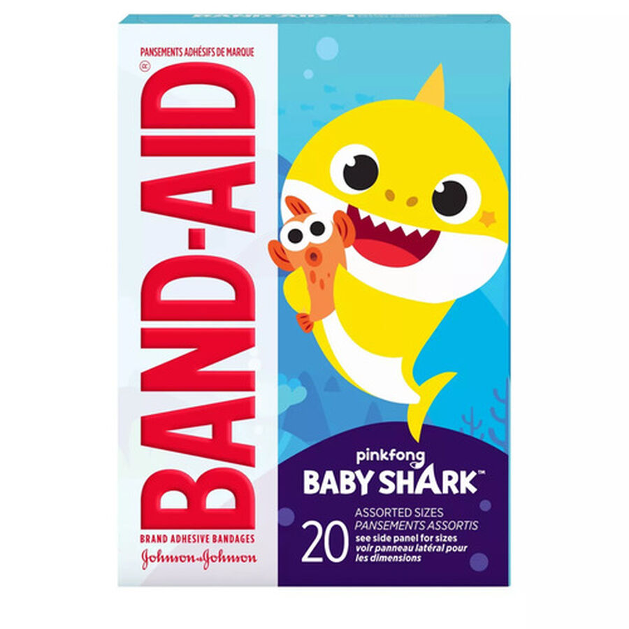Band-Aid Baby Shark Assorted Bandages, 20ct., , large image number 2