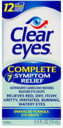 Clear Eyes Complete 7 Symptom Relief Drops, .5 oz, , large image number 0