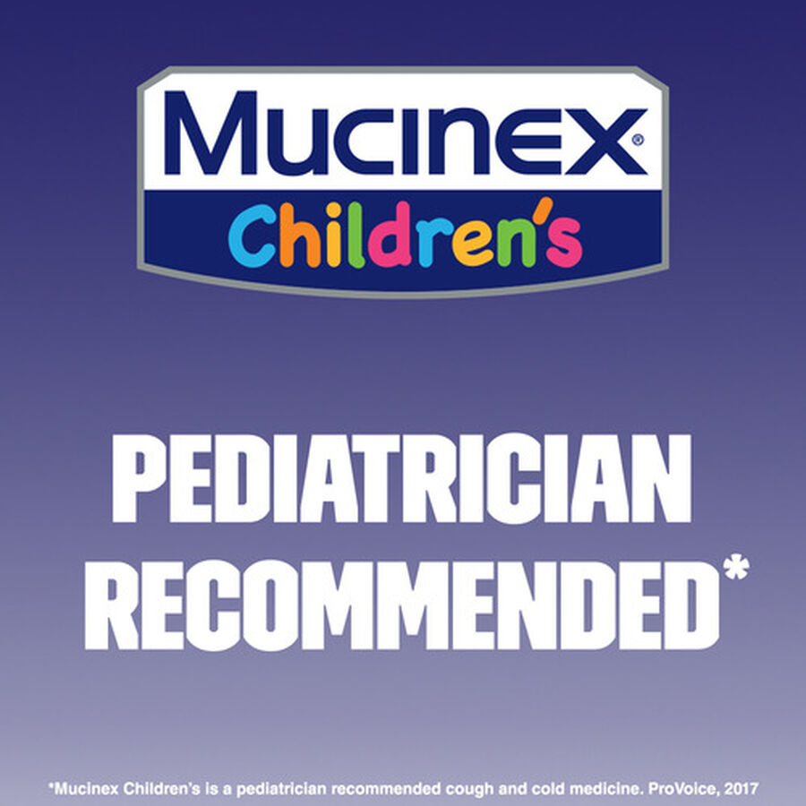 Mucinex Children's Liquid Congestion and Cough, Berrylicious, 6.8 oz, , large image number 4