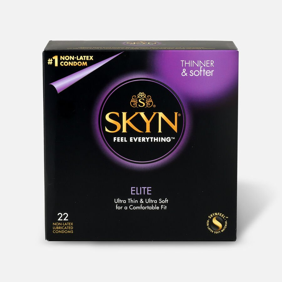 Lifestyles SKYN Elite Non-Latex Condoms, 22 Count, , large image number 0