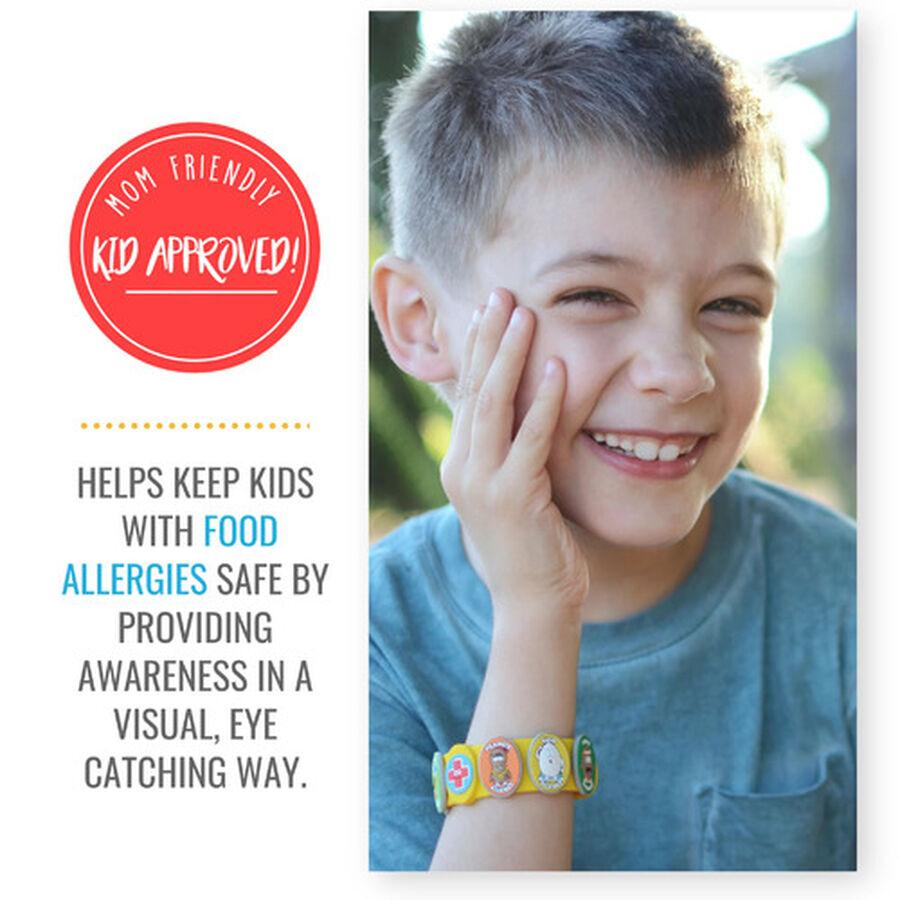 AllerMates Children's Allergy Charm Bracelet - Food Allergy, , large image number 4