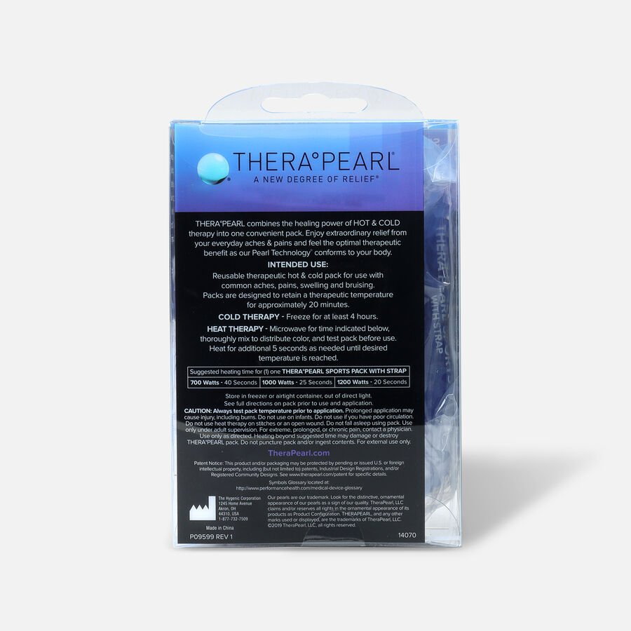 TheraPearl Hot or Cold Therapy Sports Pack with Adjustable Strap, 1 ea, , large image number 1