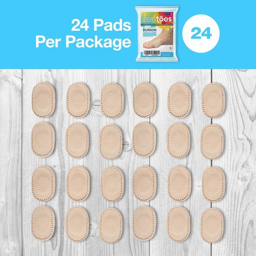 ZenToes Bunion Cushions - 24 Pack, , large image number 7