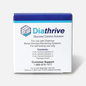 Diathrive Control Solution - 3 pack