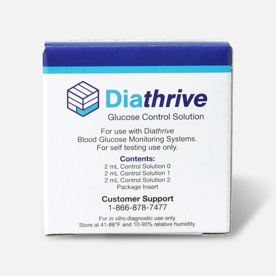 Diathrive Control Solution - 3 pack, , large image number 0