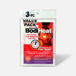 Beyond BodiHeat Fast Acting, Pain Relieving Heat Pads, 3 Pack