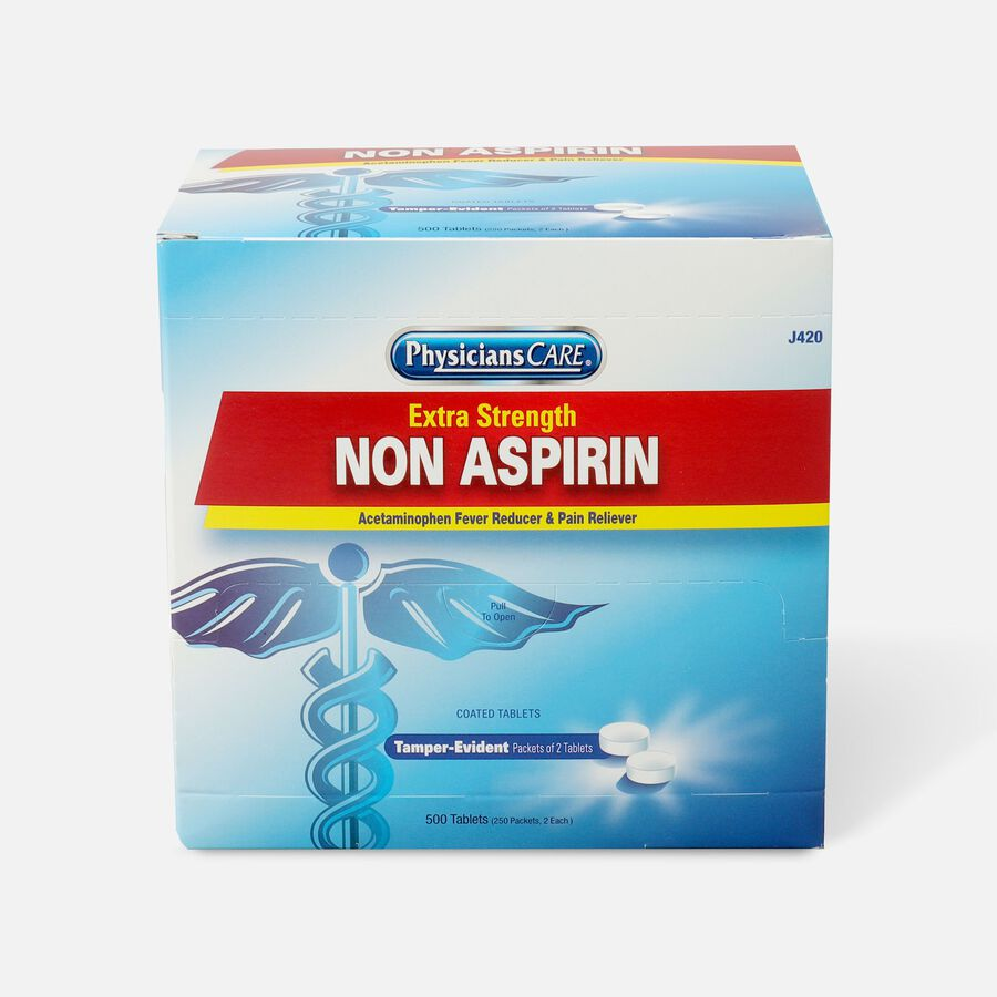 PhysiciansCare Extra Strength Non-Aspirin, 500/Box, , large image number 0