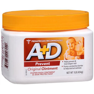 A+D Original Ointment, Diaper Rash and All-Purpose Skincare Formula, 1 lb