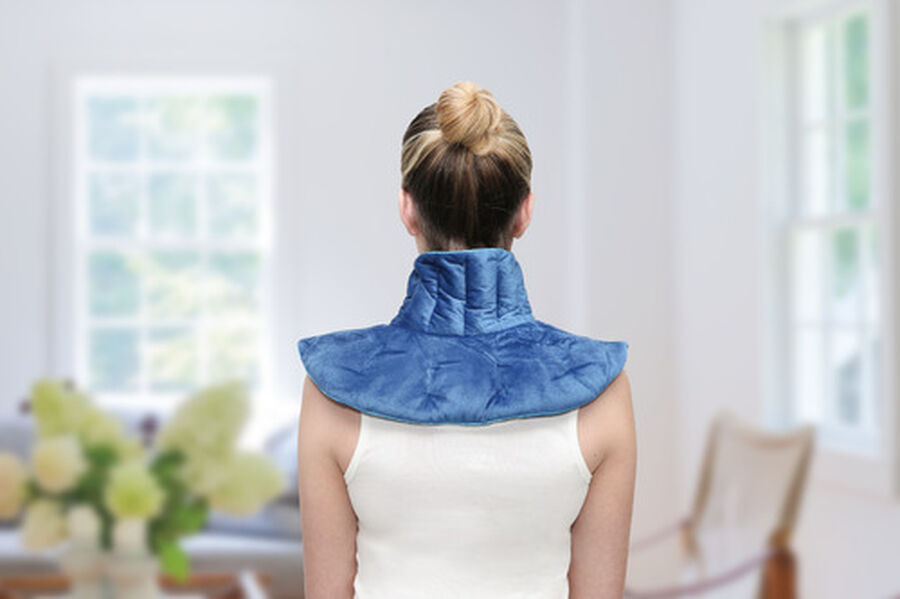 ThermaComfort™ 3 lb. Weighted Hot/Cold Neck Wrap, , large image number 8