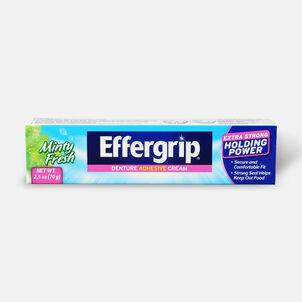 Effergrip Denture Adhesive Cream Minty Fresh, 2.5oz