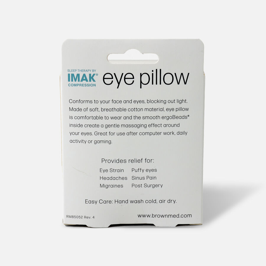 IMAK Eye Pillow, Weighted Compression Pain Relief, , large image number 1