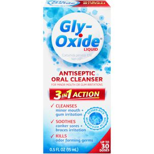 Gly-Oxide Antiseptic Oral Cleanser