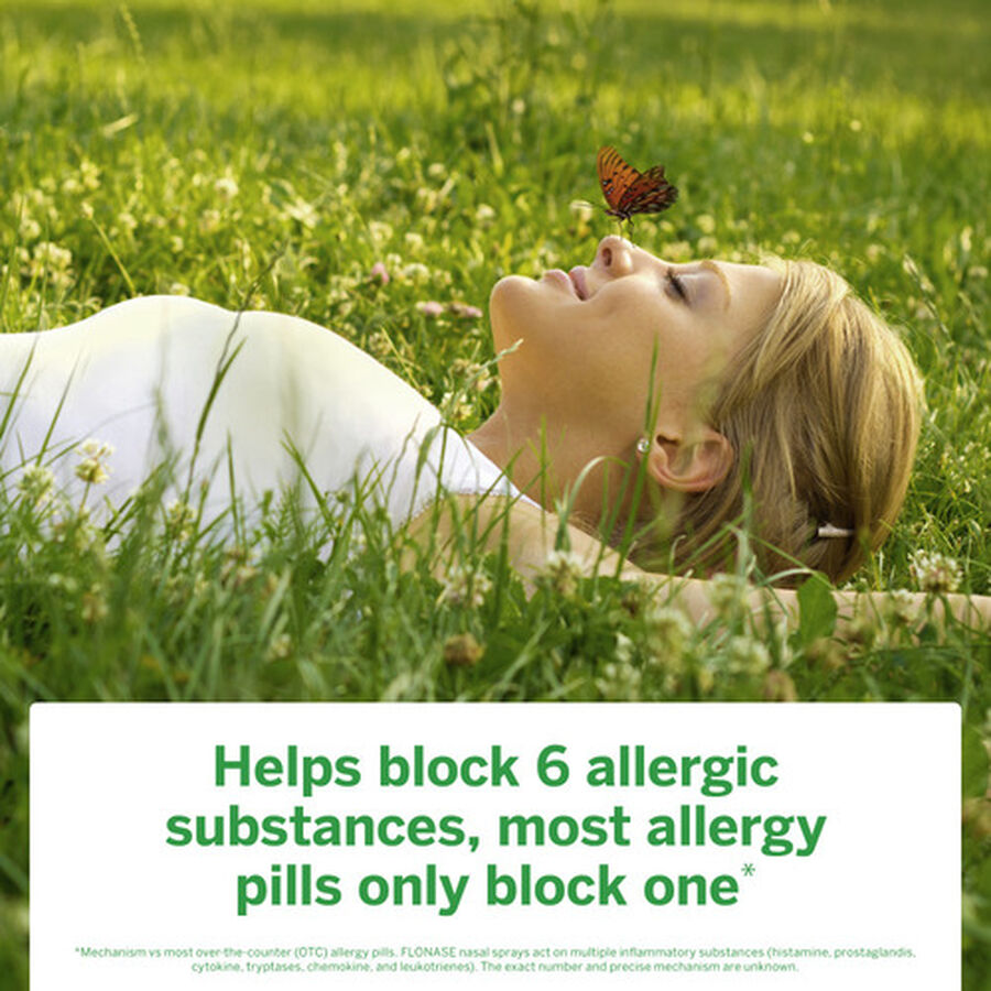 Flonase Allergy Relief Nasal Spray, 72 ct, , large image number 6