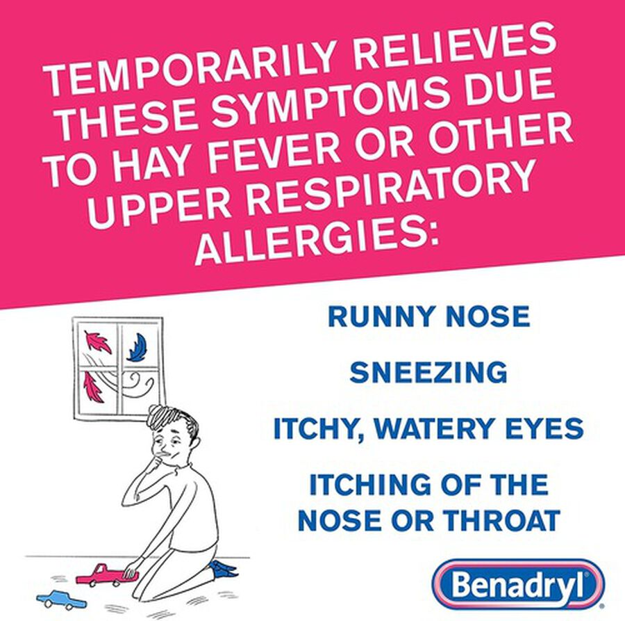 Benadryl Ultra Allergy Relief Tablets, 48 ct, , large image number 4