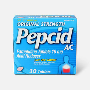 Original Strength PEPCID AC Tablets, 30 Count