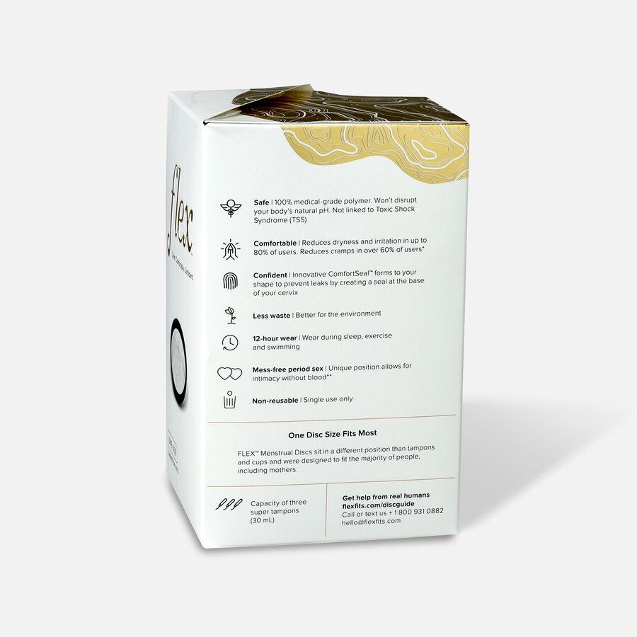 FLEX Menstrual Discs, 12ct, , large image number 1