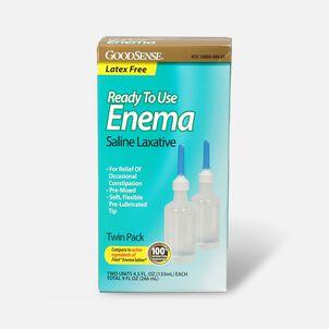 GoodSense® Ready To Use Enema Saline Laxative, 2 (4.5 fl oz units)