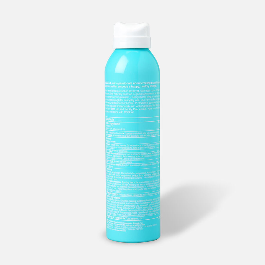 Coola Classic Body Organic Sunscreen Spray SPF 70 Peach Blossom, 6oz., , large image number 1