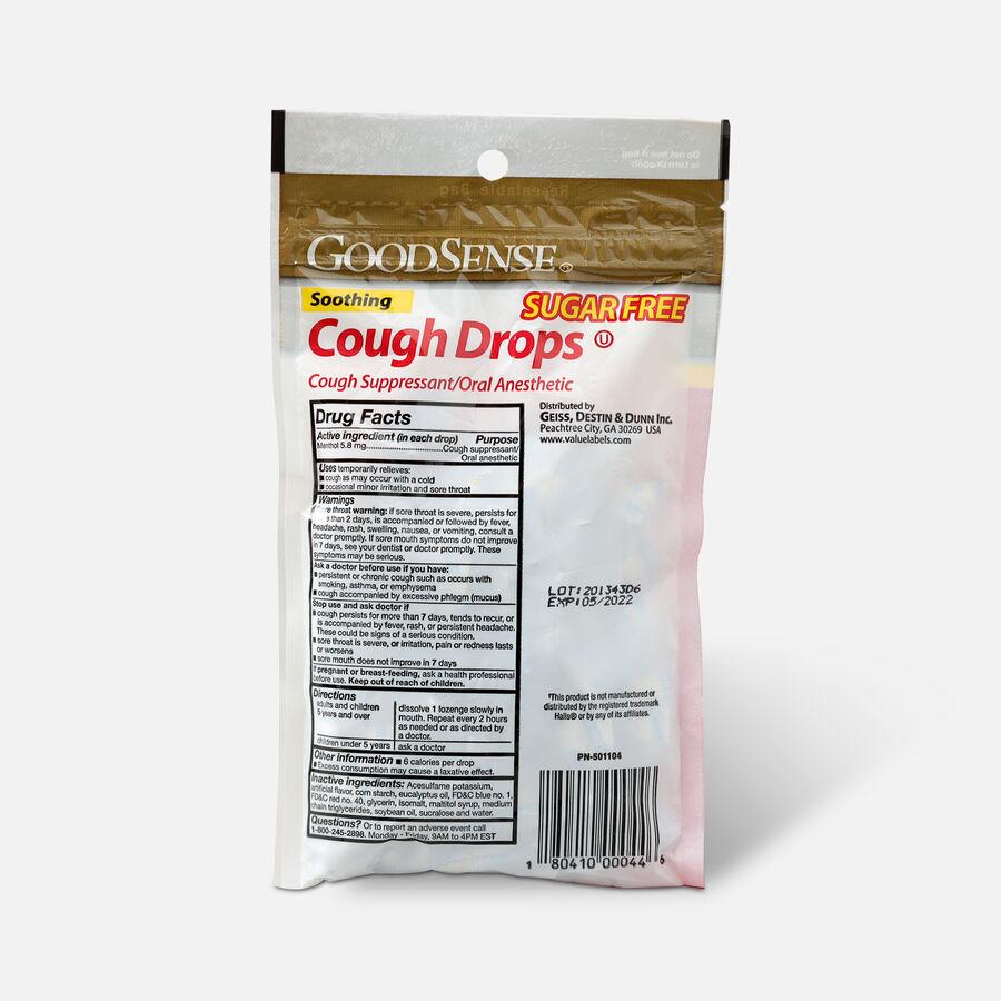 GoodSense® Cough Drops 25 Count, Black Cherry, Sugar-Free, , large image number 1