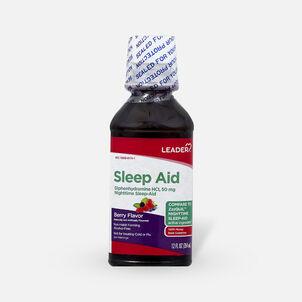 LEADER™ Sleep Aid 50mg Liquid Berry 12 oz