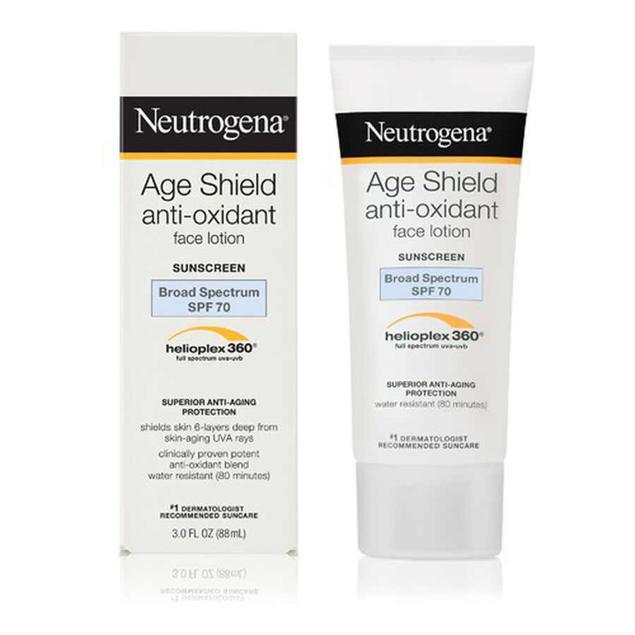Neutrogena Age Shield Face Sunscreen with SPF 70, 3 oz, , large image number 5