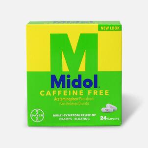 Midol Caffeine Free Caplets, 24 ct