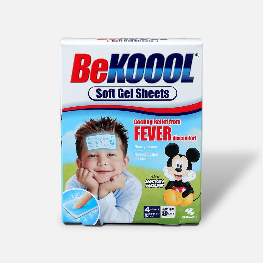 Be Koool Soft Gel Sheets, Kids, 4 ea, , large image number 0