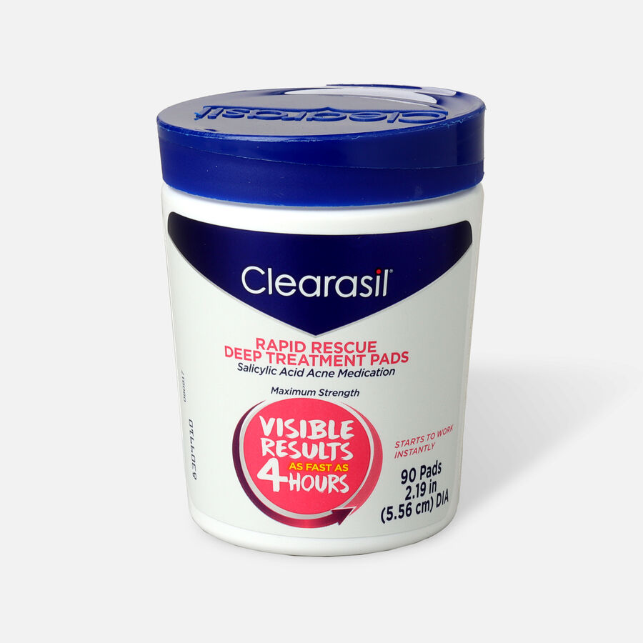 Clearasil Rapid Rescue Deep Treatment Pads - 90ct, , large image number 0