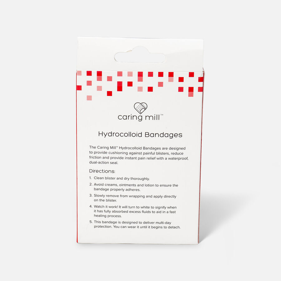 Caring Mill™ Hydrocolloid Bandages, , large image number 2