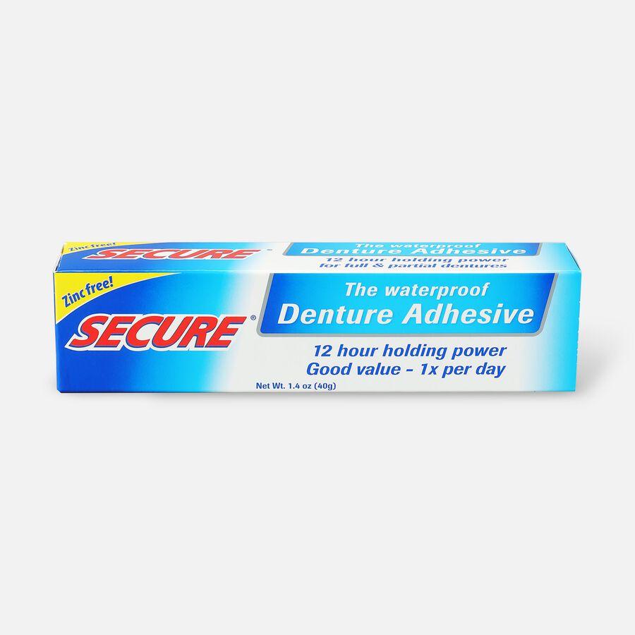 SECURE Denture Adhesive Original 1.4oz, , large image number 0