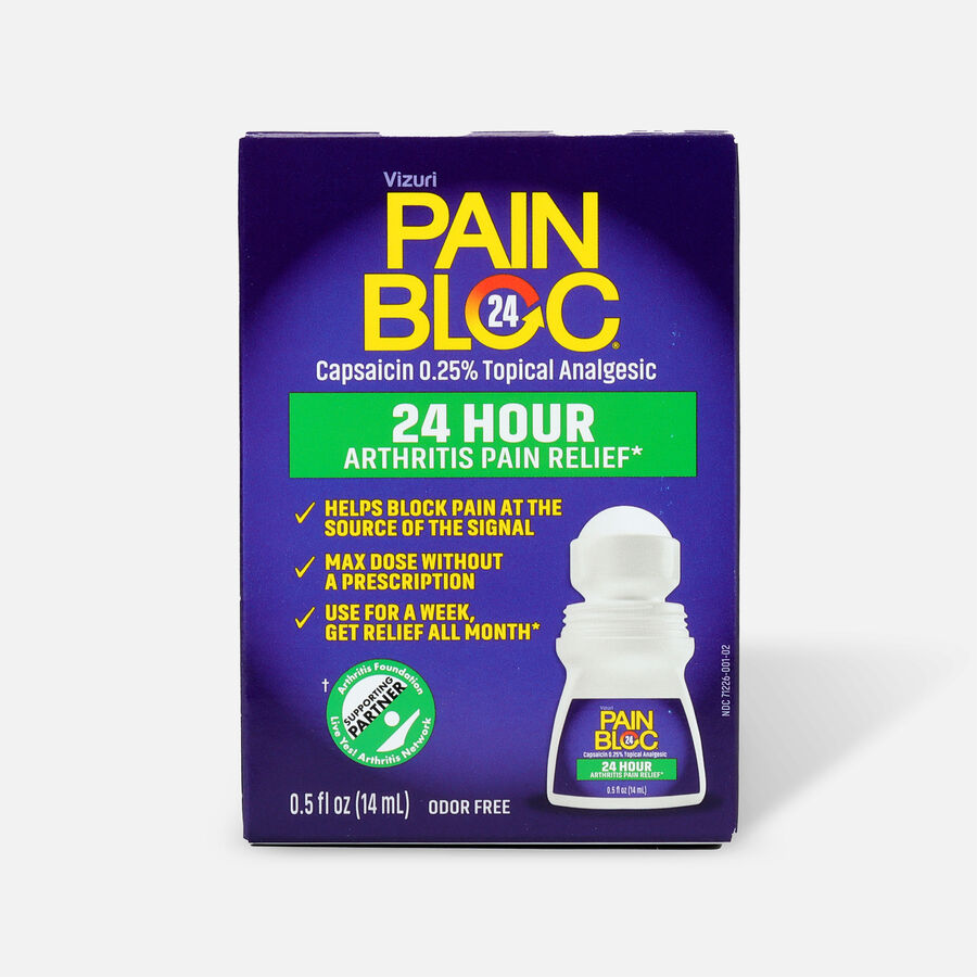 PainBloc24 Roll On Pain Reliever, , large image number 0