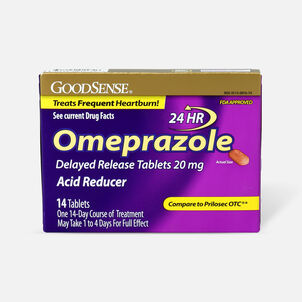 GoodSense® Omeprazole Delayed Release Tablets 20 mg, Acid Reducer