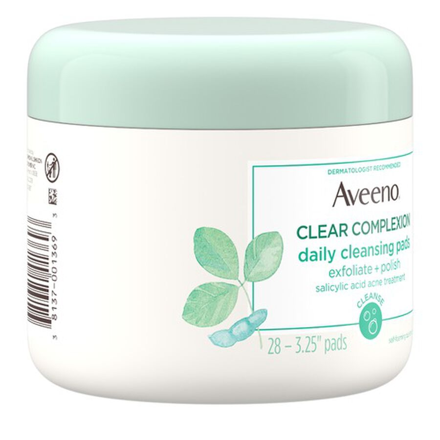Aveeno Clear Complexion Daily Cleansing Pads - 28ct, , large image number 2