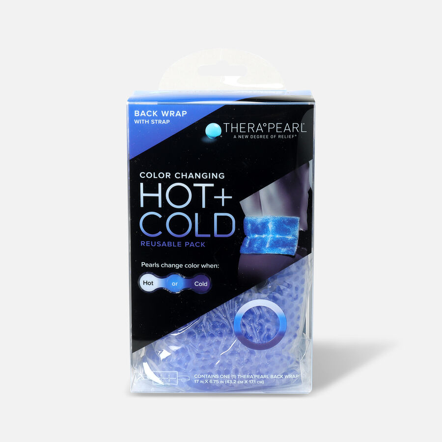 """TheraPearl Hot and Cold Back Wrap, 17"""" x 6.75"""", , large image number 0"""