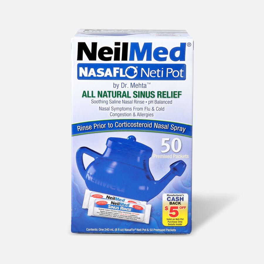 NeilMed NasaFlo Neti Pot, 8 oz, , large image number 0