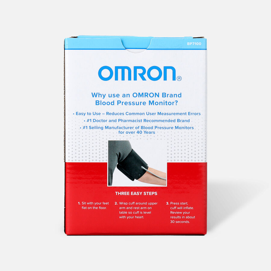 Omron 3 Series Upper Arm Blood Pressure Unit, , large image number 1