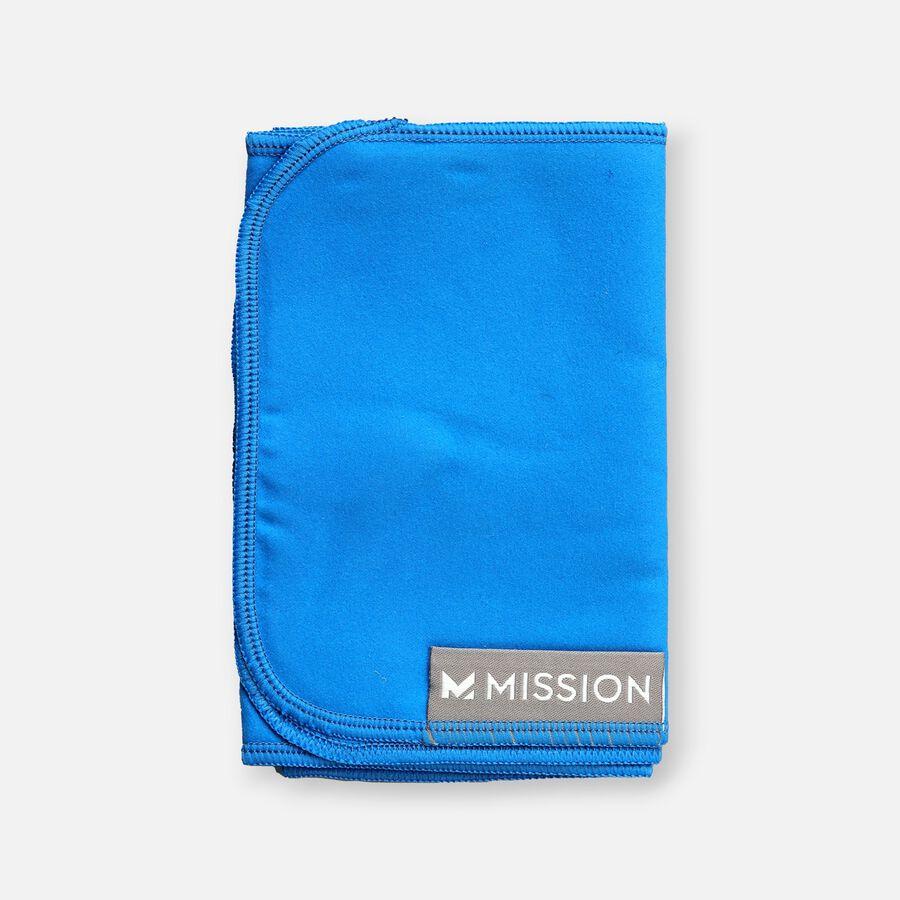 Mission Fever Relief Cooling Towel, Electric Blue Lemonade, , large image number 1