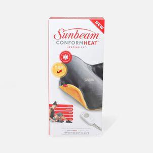 Sunbeam ConformHeat, XpressHeat, Standard Heating Pad, Yellow, 3 Heat Settings