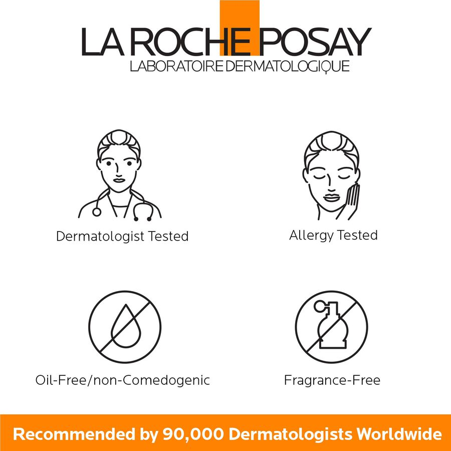La Roche-Posay Anthelios 60 Body and Face Sunscreen Melt-In Milk Lotion, SPF 60 with Antioxidants, 5 Fl. Oz., , large image number 2