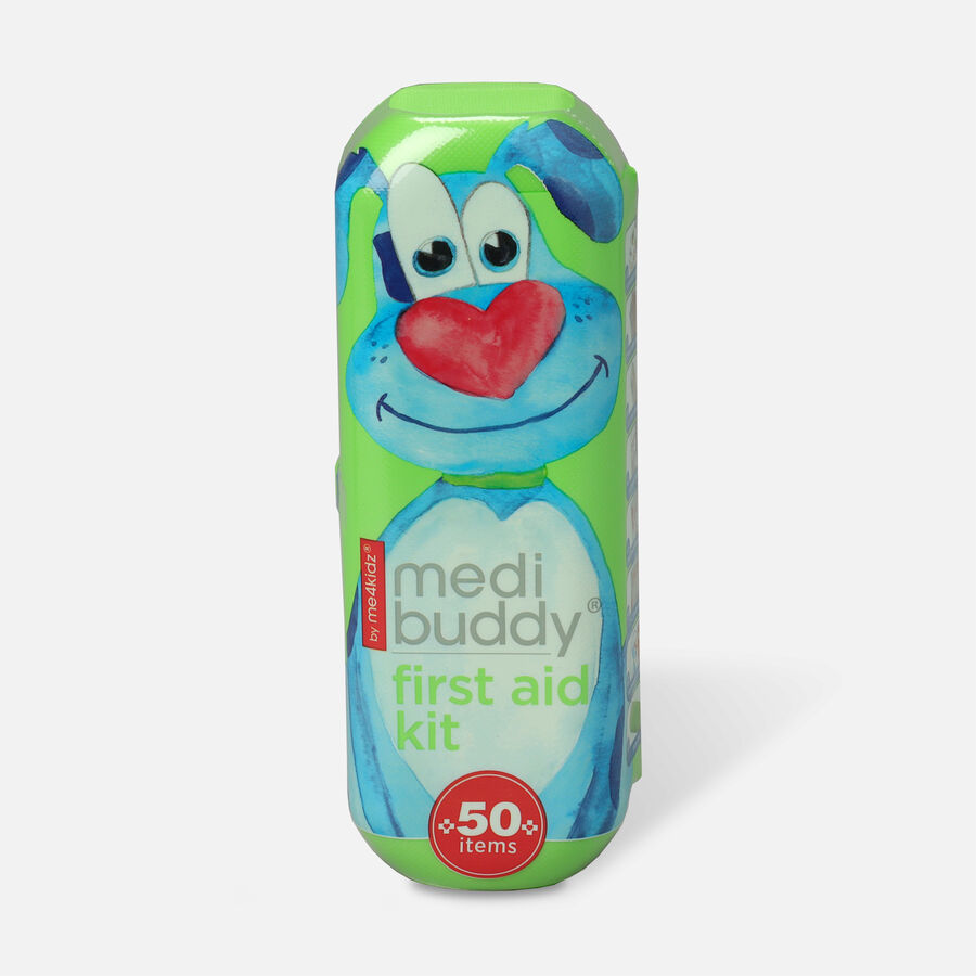 MediBuddy Kid Friendly First Aid To Go, 50 ct, , large image number 0
